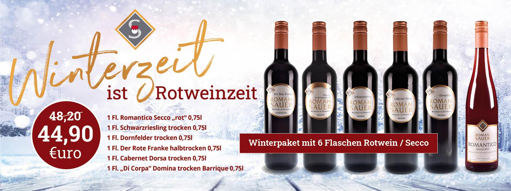 Winter Rotwein Paket